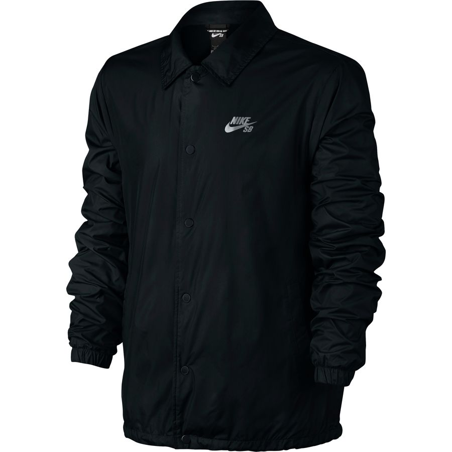 Nike - SB Shield Coaches Jacket - Men's - Black/Cool Grey