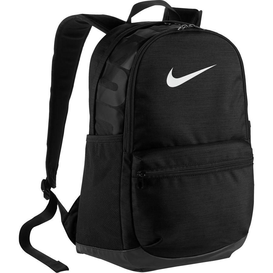 faf7b2323b Nike - Brasilia Medium Backpack - Black Black White