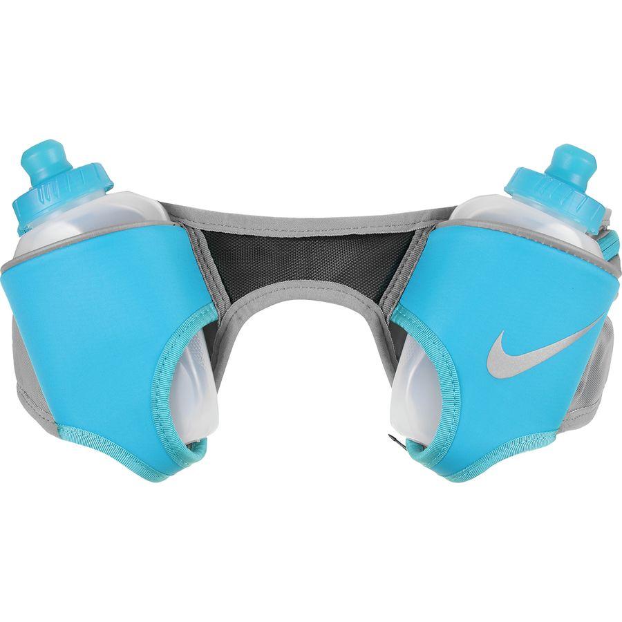 release info on ad875 ec5db Nike - Double Flask Hydration Belt - Dust  Light Blue Fury Silver