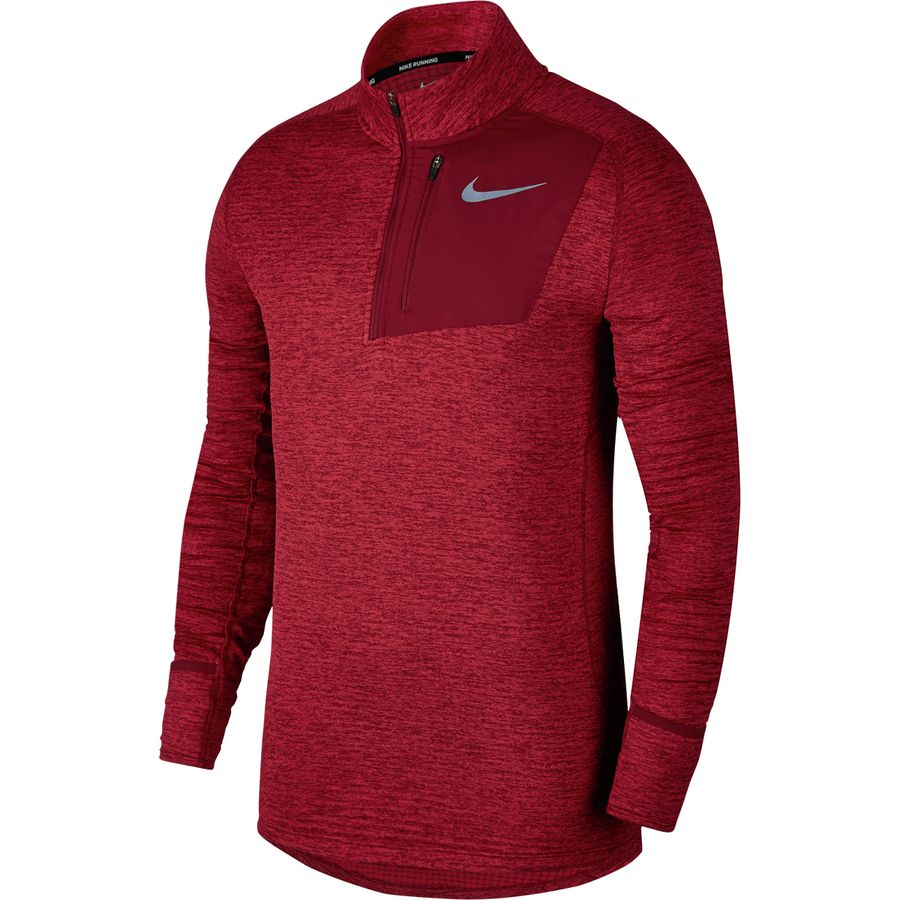 Nike - Therma Sphere Element Half-Zip Running Top - Men's - Gym Red-