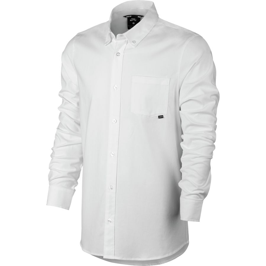 Nike SB Flex Button Long-Sleeve Shirt - Mens