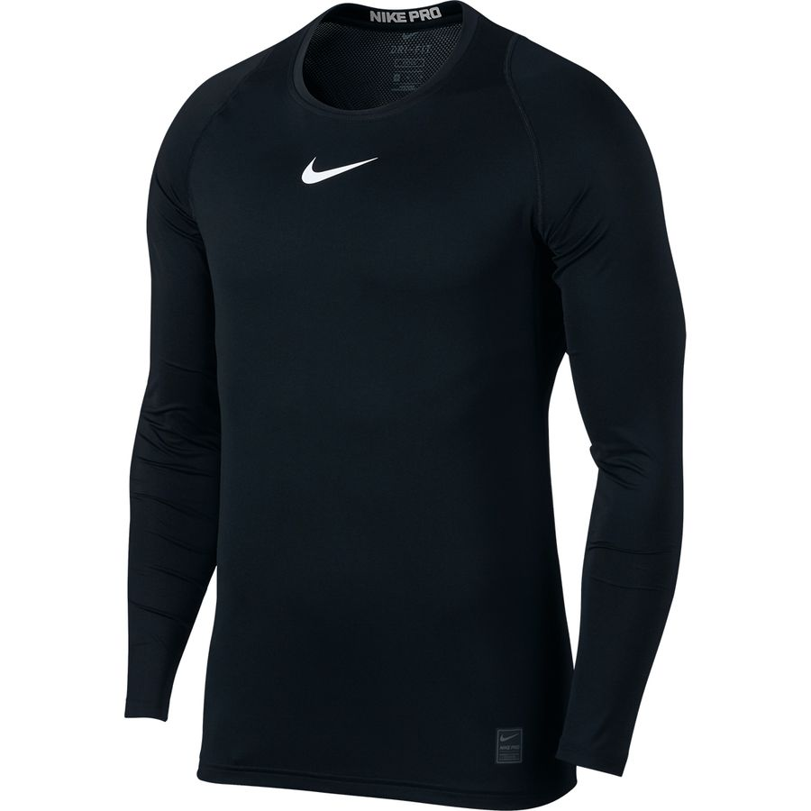 f7155ca1 Nike - Pro Fitted Long-Sleeve Top - Men's - Black/White/White