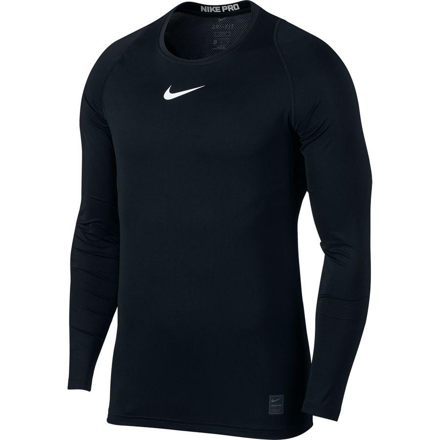 c8653050 Nike - Pro Fitted Long-Sleeve Top - Men's - Black/White/White
