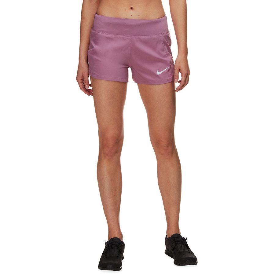 f5ac3c81f6a Nike - Flex 3in Triumph Short - Women s - Plum Dust Reflective Silver