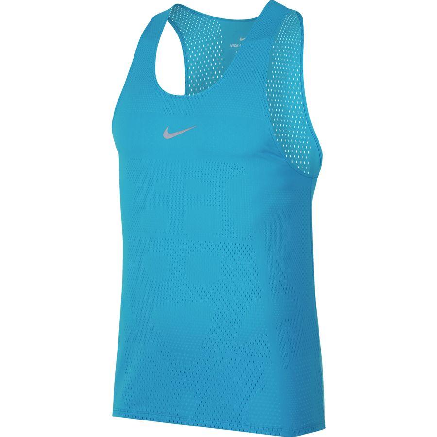 Nike - AeroSwift Tank Top - Men's - Equator Blue