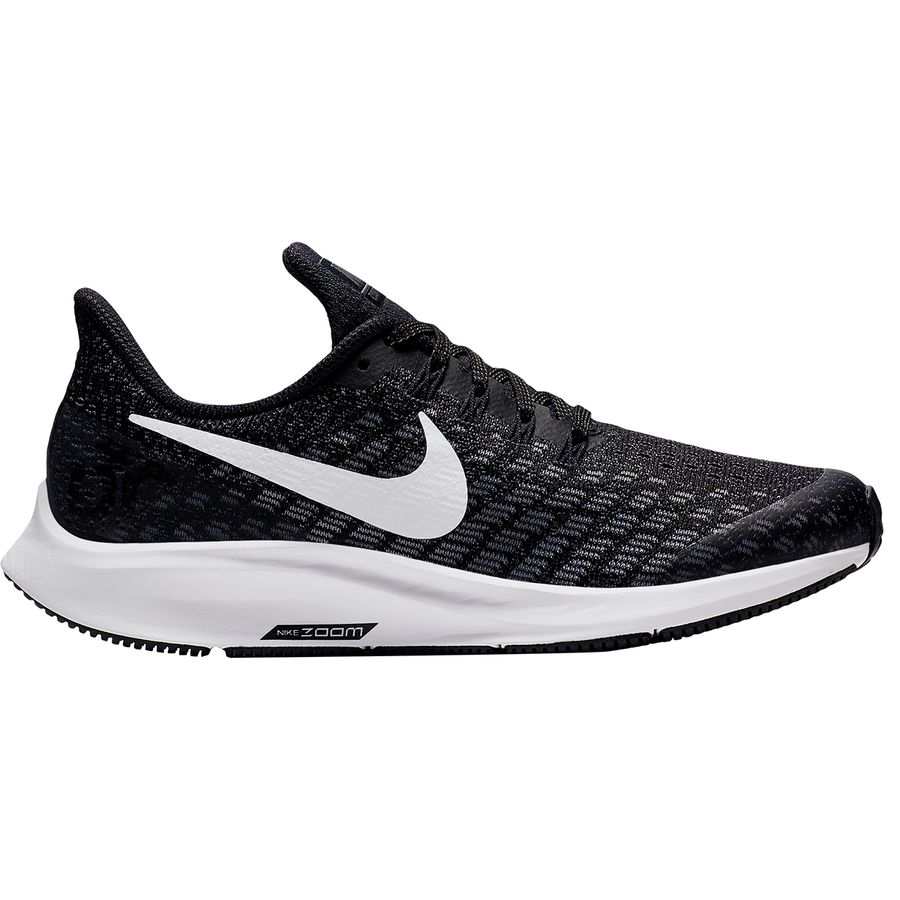7ffe220c2145 Nike - Air Zoom Pegasus 35 Shoe - Kids  - Black White-gunsmoke