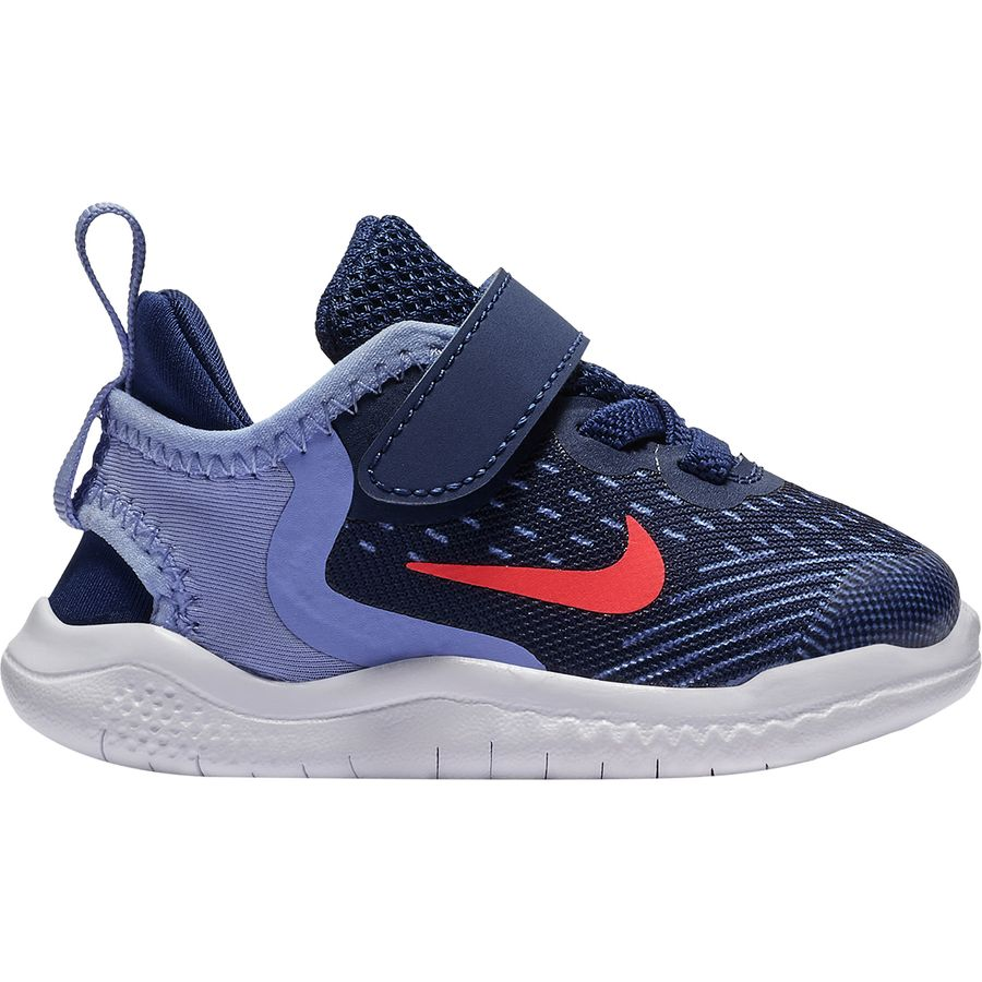 Nike - Free Run Toddler Shoe - Toddler Girls  - Blue Void Flash Crimson c567417a5