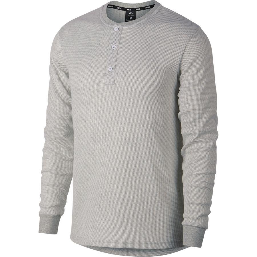 Nike Sb Thermal Henley Shirt Mens Backcountry