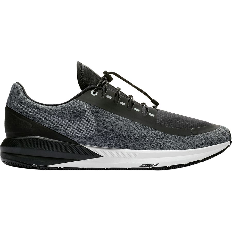 premium selection b3ad4 1932a Nike - Air Zoom Structure 22 Shield Running Shoe - Men s - Black White-