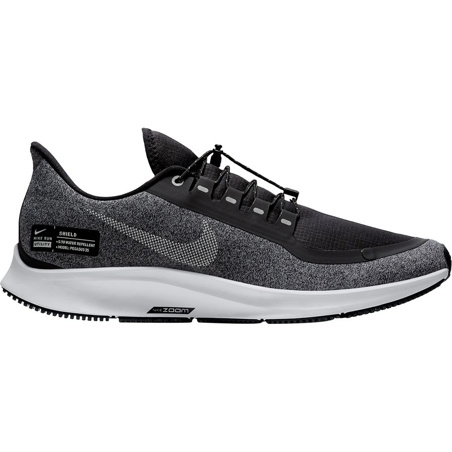 Nike - Air Zoom Pegasus 35 Shield Running Shoe - Men s - Black White- 4944f81008f