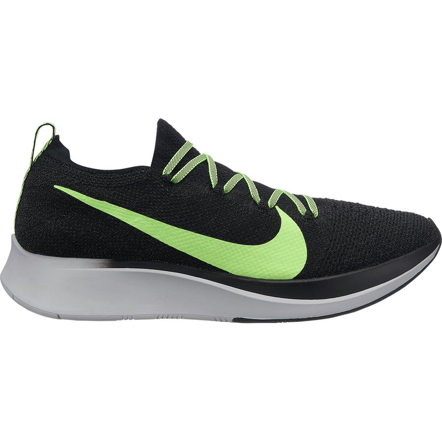 6e871c166388 Nike - Zoom Fly Flyknit Running Shoe - Men s - Black Lime Blast-vast