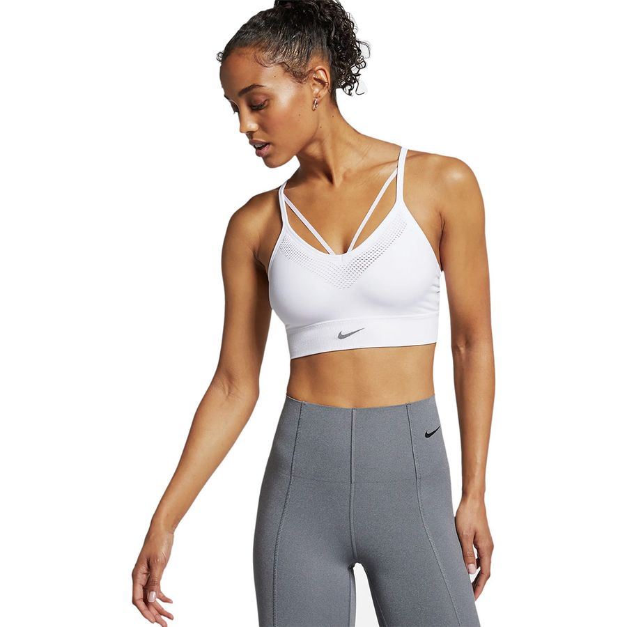 0f74ab6217189 Nike - Seamless Light Bra - Women s - White Atmosphere Grey