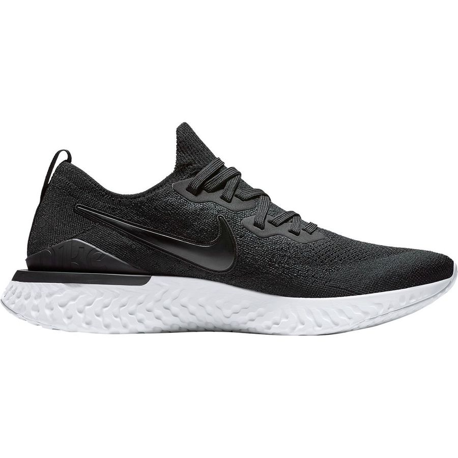 5a34547206dc Nike - Epic React Flyknit 2 Running Shoe - Men s - Black Black-White