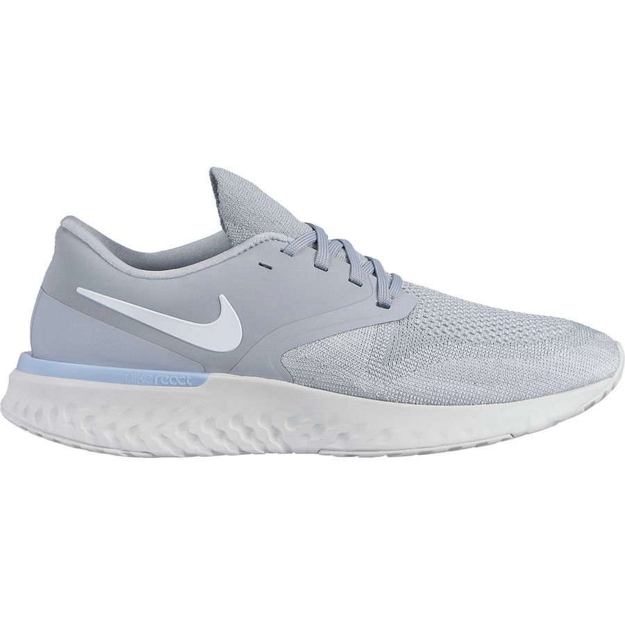 3ddd2d5fb984 Nike - Odyssey React 2 Flyknit Running Shoe - Men s - Wolf Grey White-