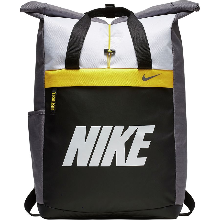 Nike - Radiate Training Graphic Backpack - Women s - Gunsmoke Amarillo White c8db644ef5953
