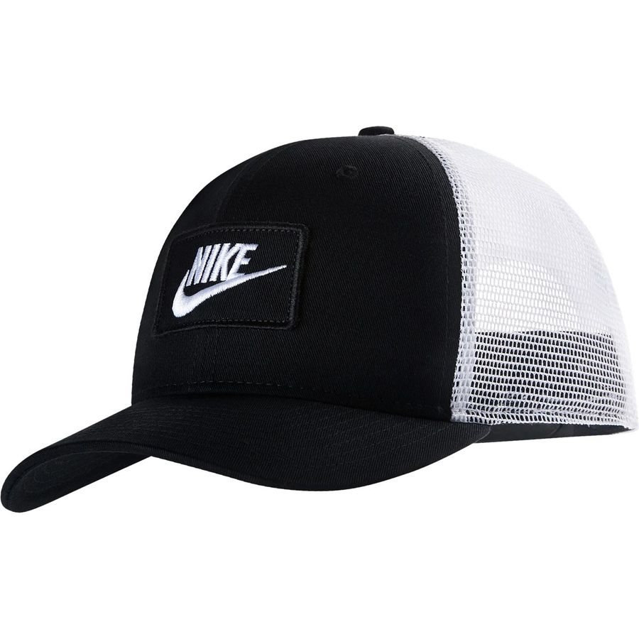 920348b69e68c Nike - Sportswear Classic99 Trucker Cap - Black White