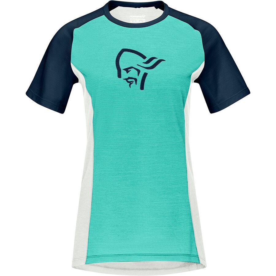 Norrona Fjora Wool T-Shirt - Womens