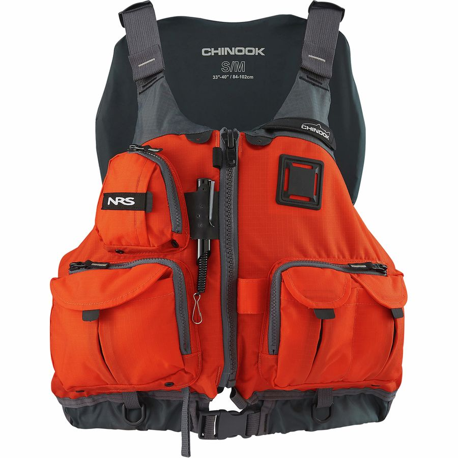 Nrs chinook personal flotation device for Women s fishing vest