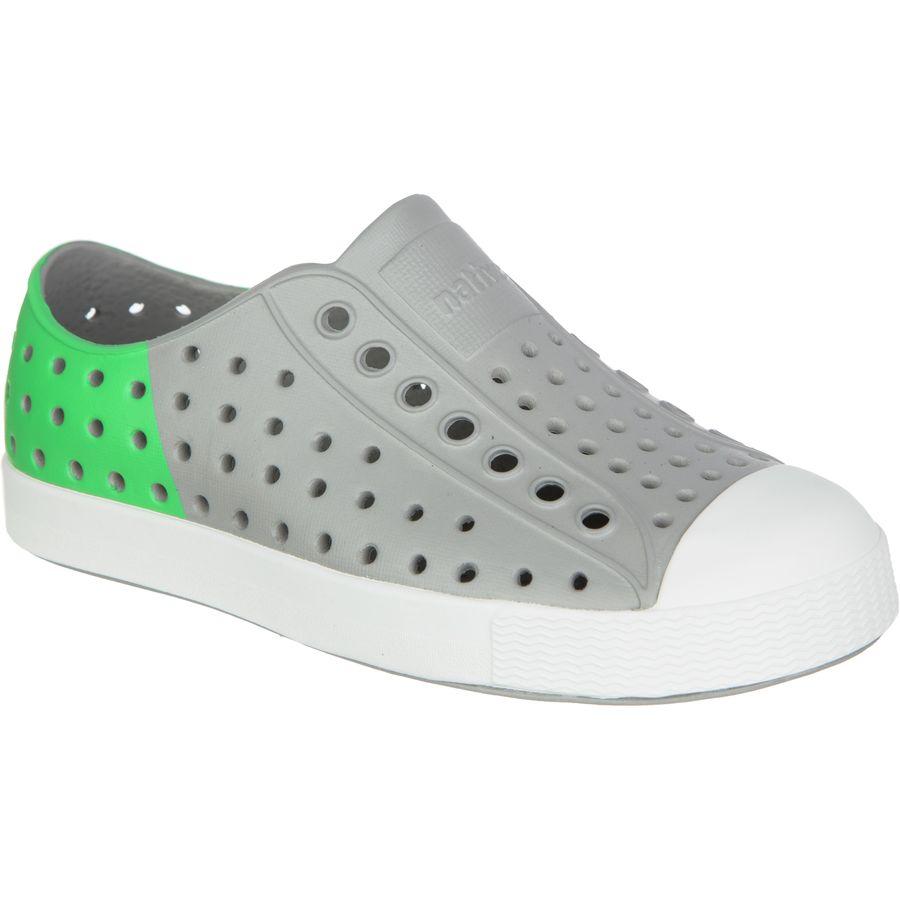 Native Shoes Jefferson Color Block Shoe Toddler Boys Pigeon Grey S