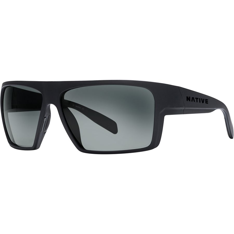 5b0f22e986 Native Eyewear - Eldo Polarized Sunglasses - Men s - Asphalt-Dark  Gray-Asphalt