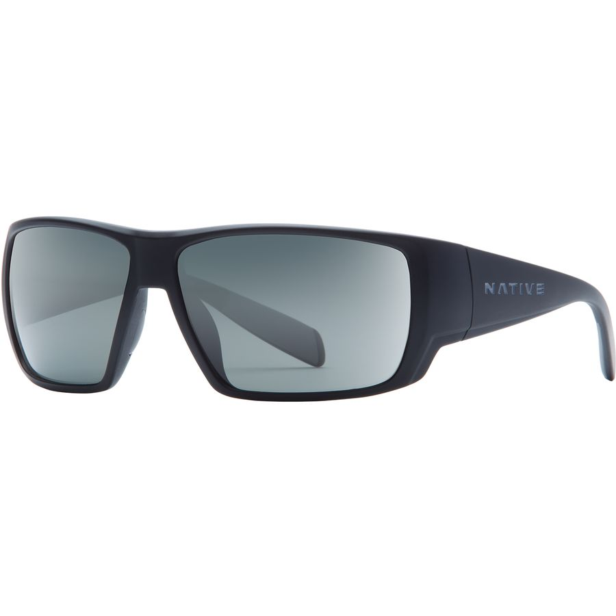 4162ad3047 Native Eyewear - Sightcaster Polarized Sunglasses - Matte Black Gray