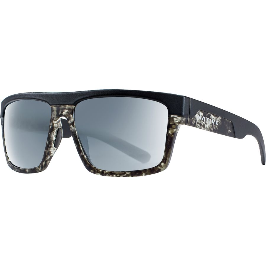 72a801221ff Native Eyewear - El Jefe Polarized Sunglasses - Men s - Matte Black Black  Tort-