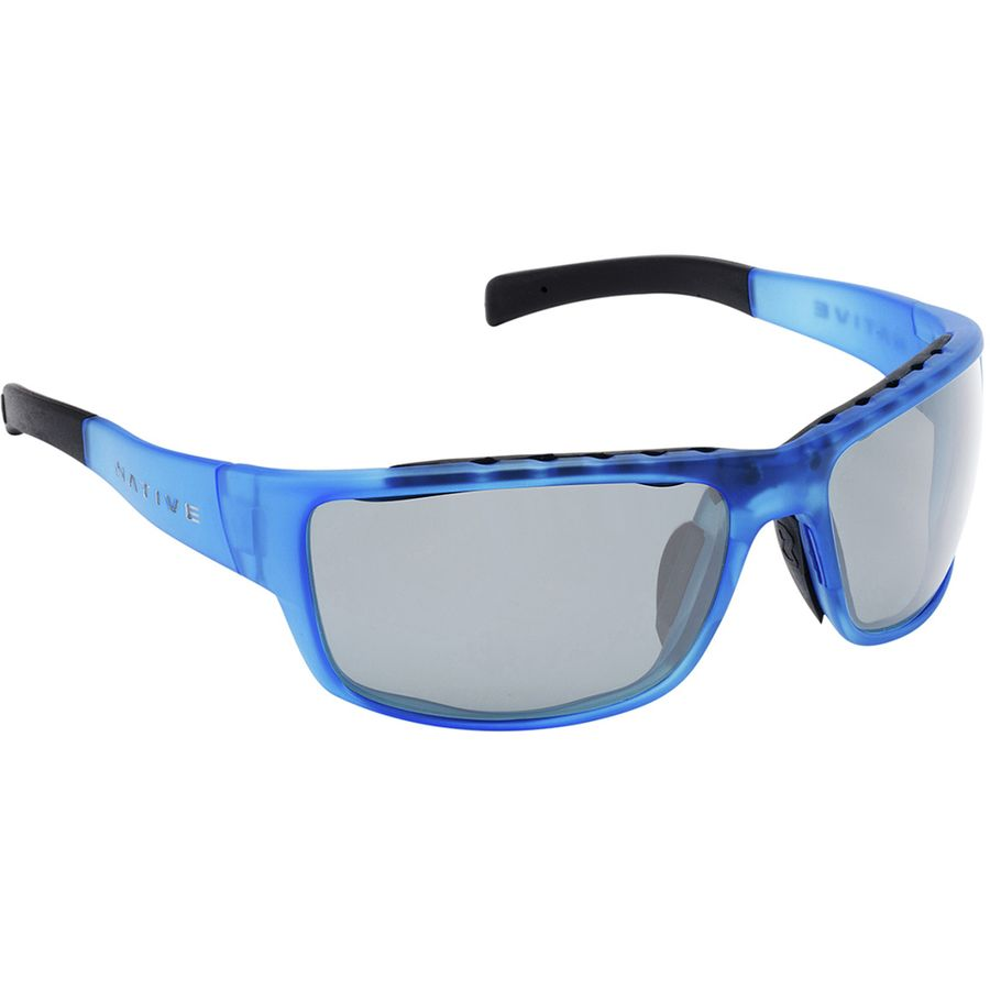 blue polarized lenses  Native Eyewear Cable Sunglasses - Polarized