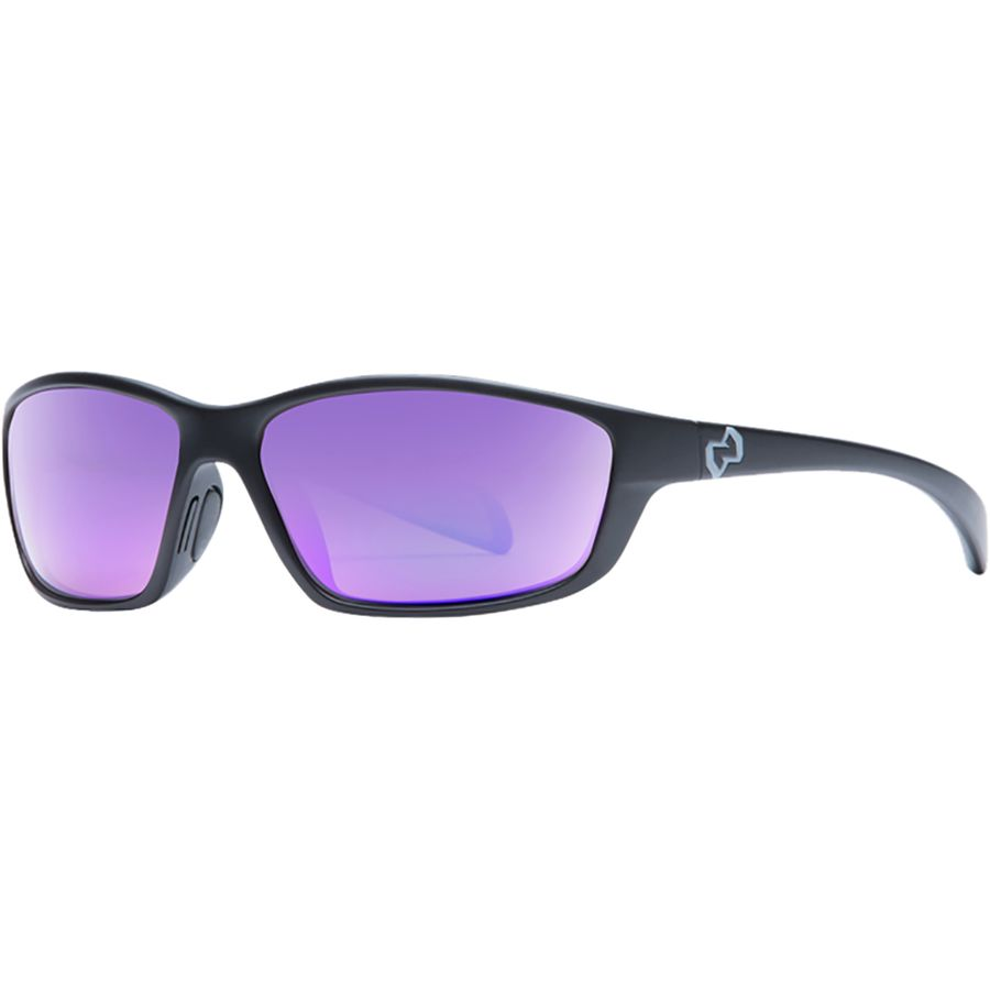 831804d5e8e Native Eyewear - Kodiak Polarized Sunglasses - Matte Black Violet Reflex