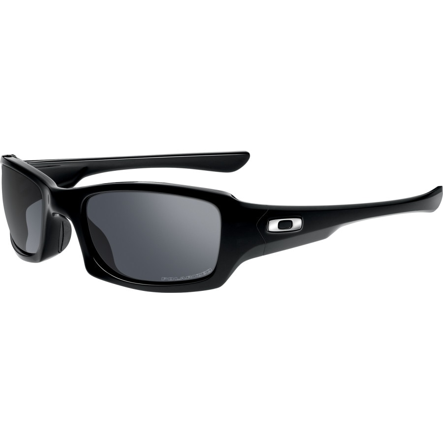 bdfab8a8a50 Oakley - Fives Squared Polarized Sunglasses - Men s - Polished Black Black  Iridium Polarized