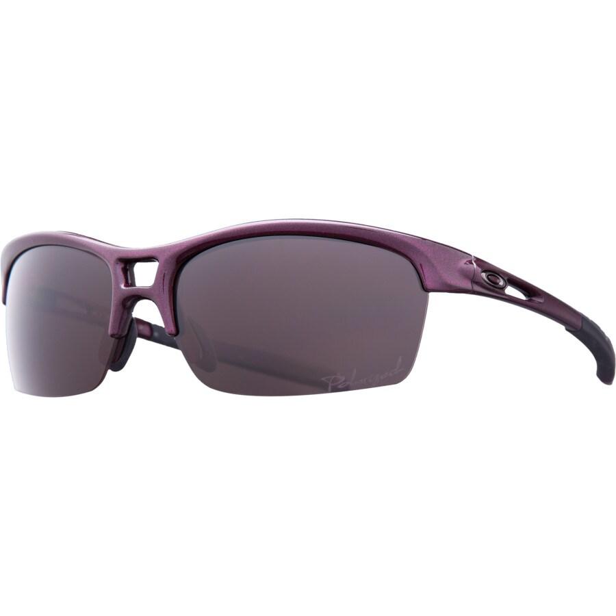 womens oakley rpm edge sunglasses  oakley rpm squared sunglasses polarized women's raspberry spritzer/oo grey polar
