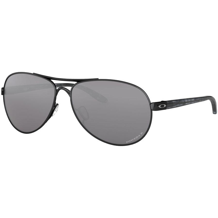 d16dced48a48d Oakley - Feedback Polarized Sunglasses - Women s - Polished Black W  Prizm  Black Polarized