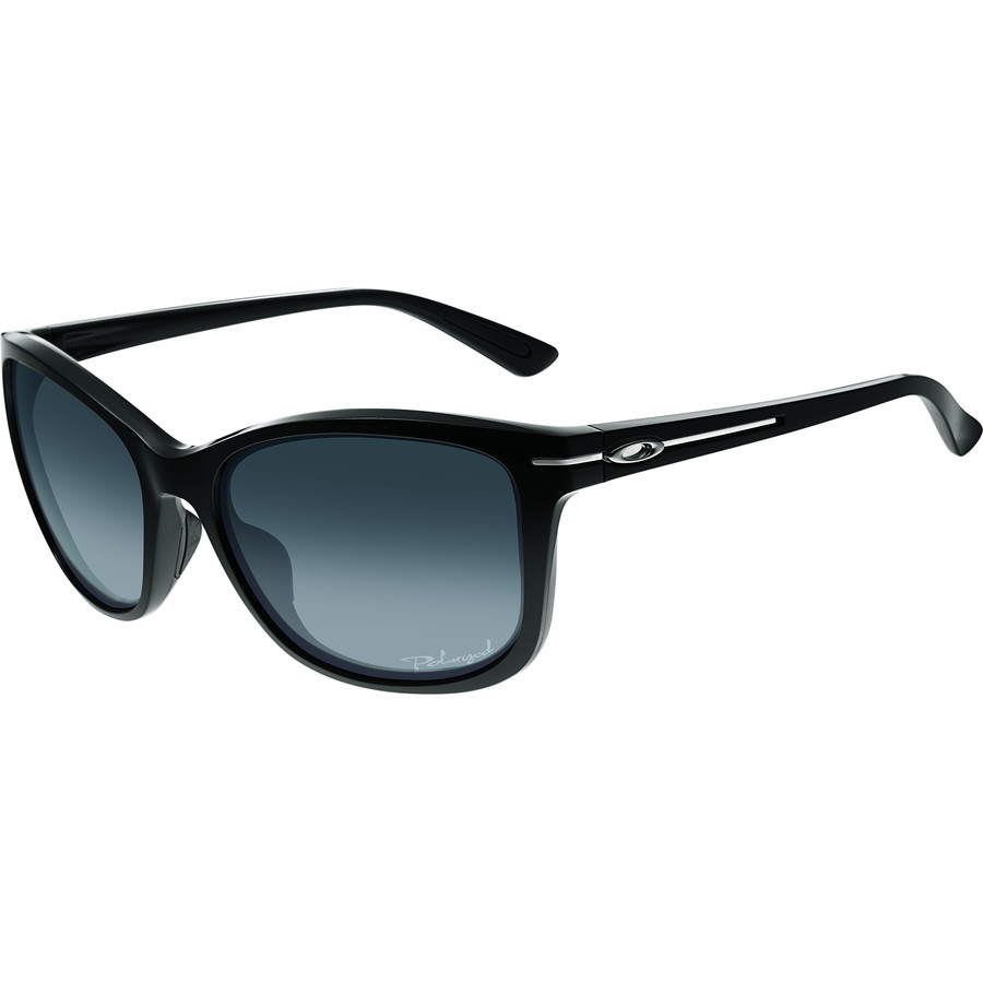 oakley womens drop in sunglasses  oakley drop in sunglasses polarized women's polished black/grey gradiant polar