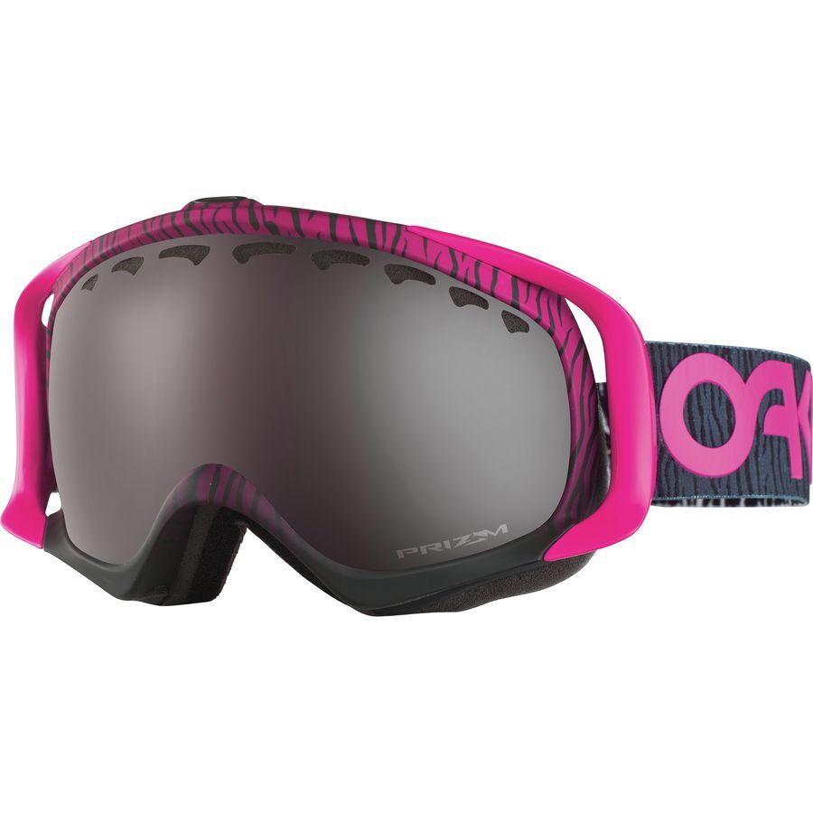 oakley black iridium goggles  Oakley Crowbar Prizm Goggle