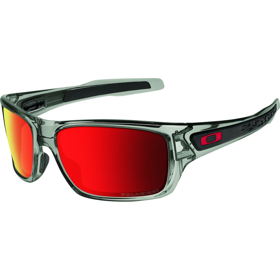 9270fcdb5d2 Oakley - Turbine Polarized Sunglasses - Men s - Grey Ink Ruby Iridium. 1