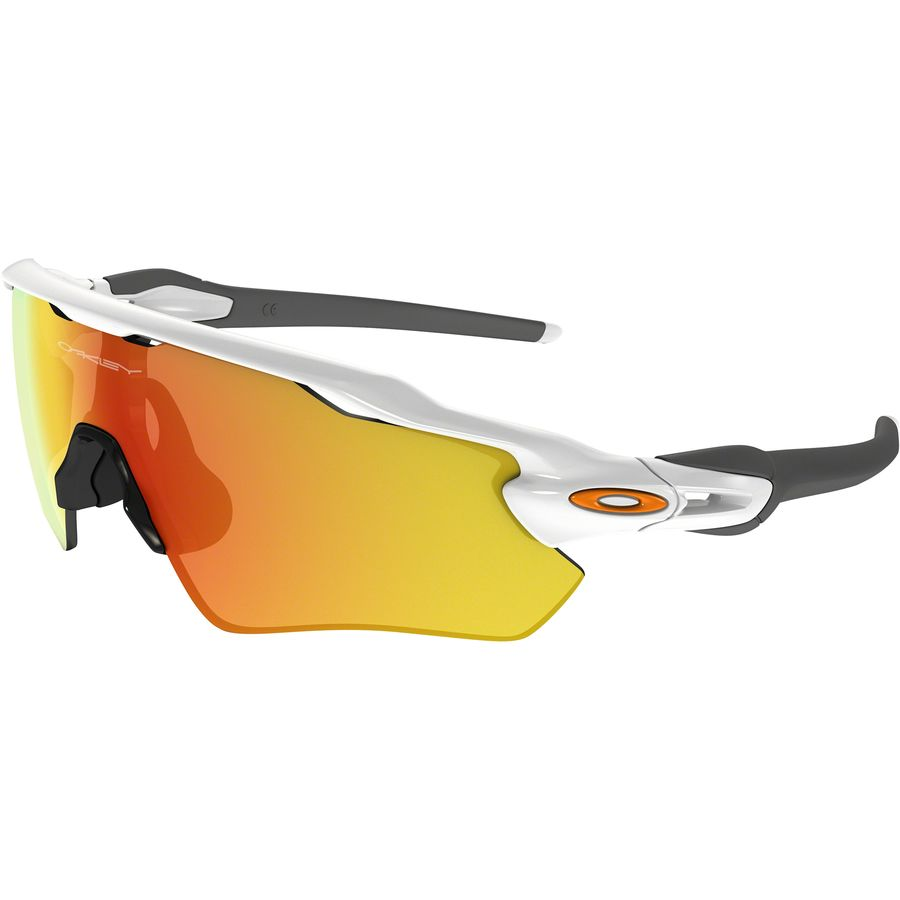 Oakley - Radar EV Path Sunglasses - Polished White/Fire Iridium
