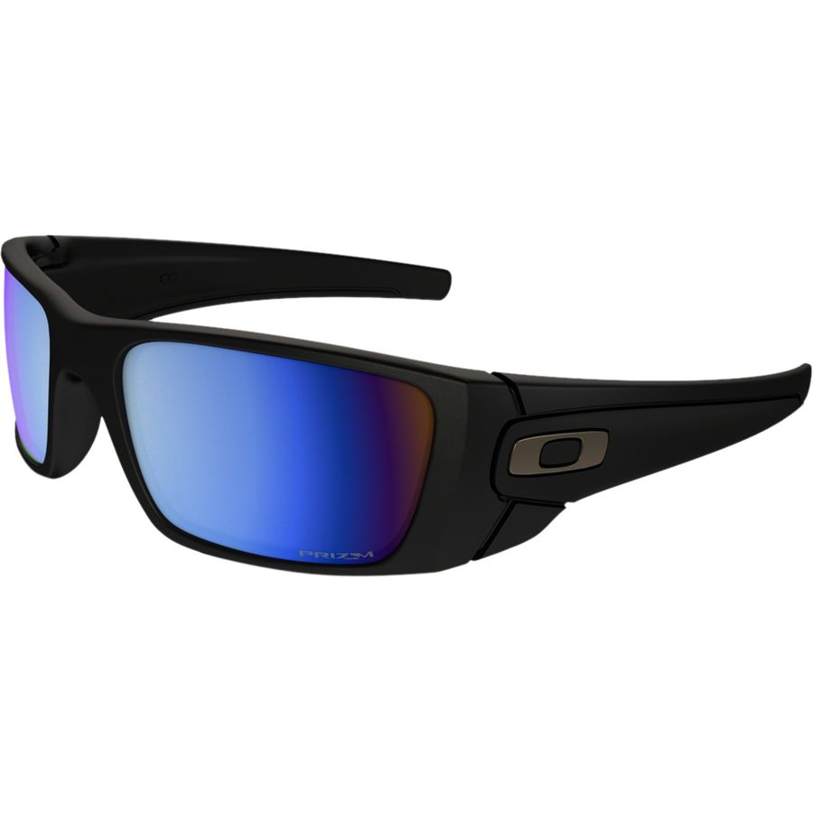 7dc14af8643 ... purchase oakley fuel cell prizm sunglasses mens matte black prizm deep  blue dbab7 79c78