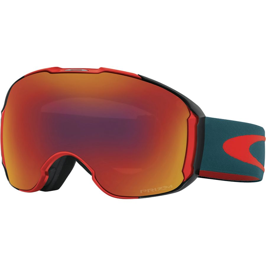 oakley goggles for sale  oakley airbrake xl prizm goggle red legion blue/prizm torch/prizm sapphire