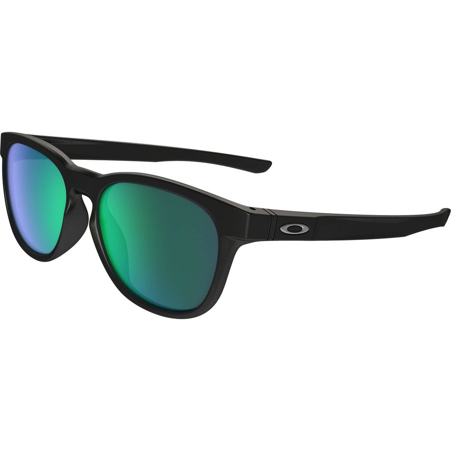 Oakley - Stringer Sunglasses - Stringer Mate Black W/ Jade Irid
