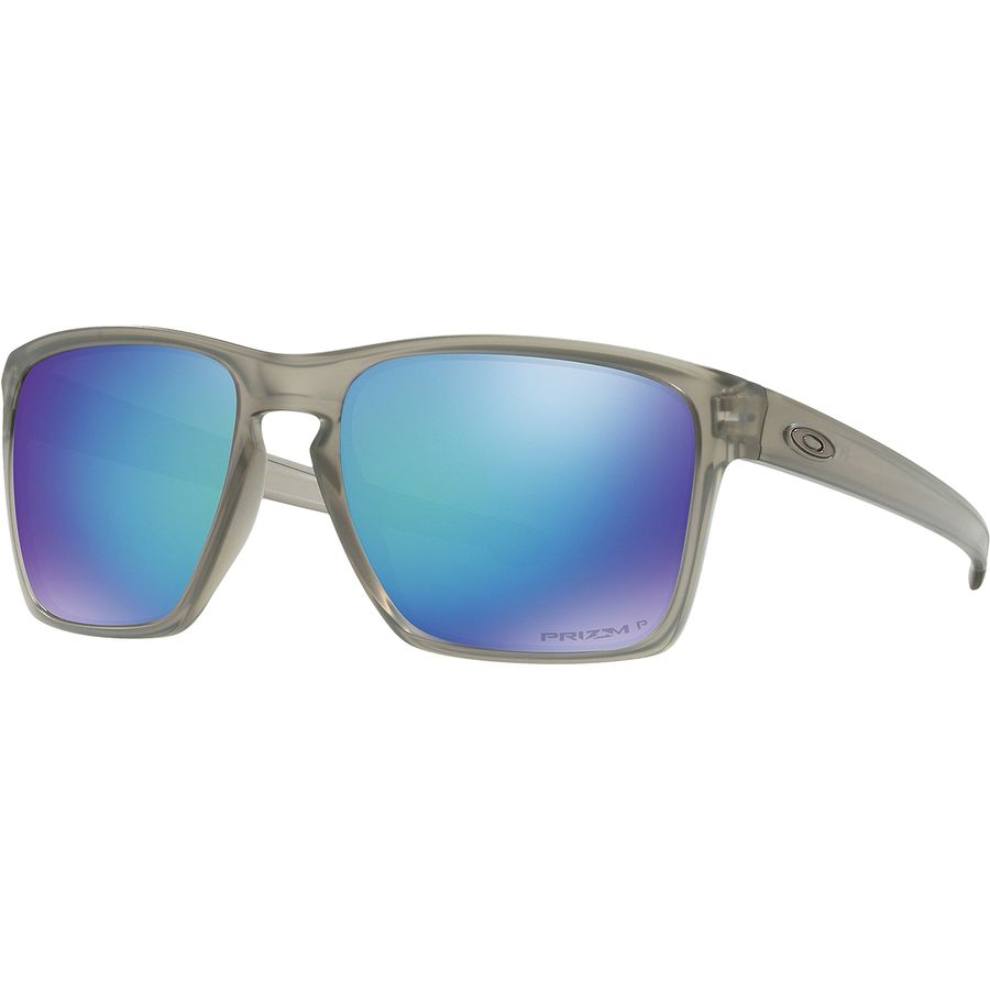 9208b56e2c Oakley - Sliver Prizm Polarized Sunglasses - Men s - Matte Grey Ink Prizm  Sapphire Polarized