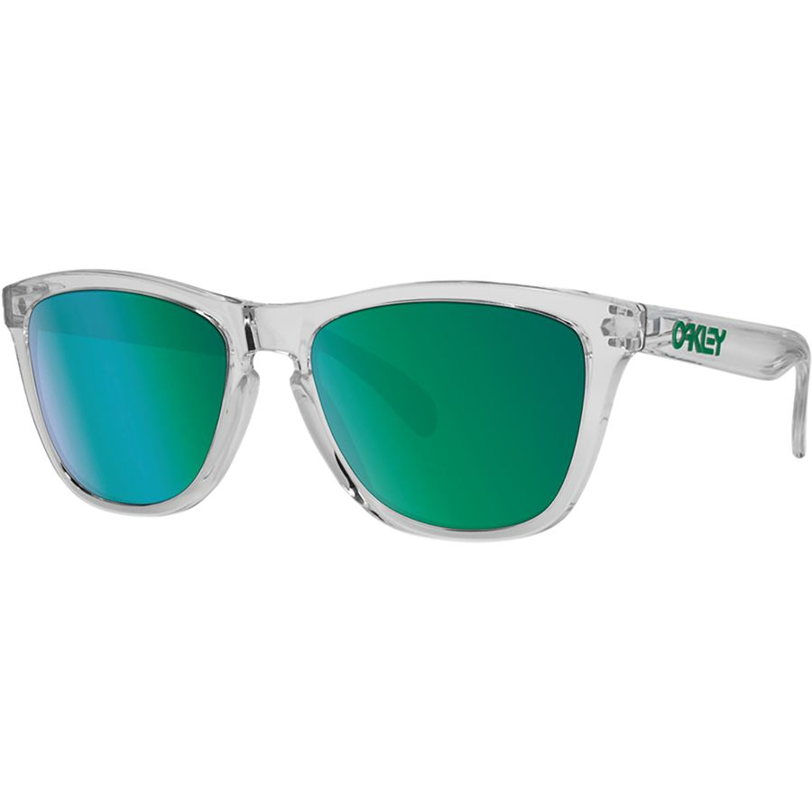 Oakley - Frogskins Crystal Clear Collection Sunglasses - Crystal Clear W/  Jade Irid