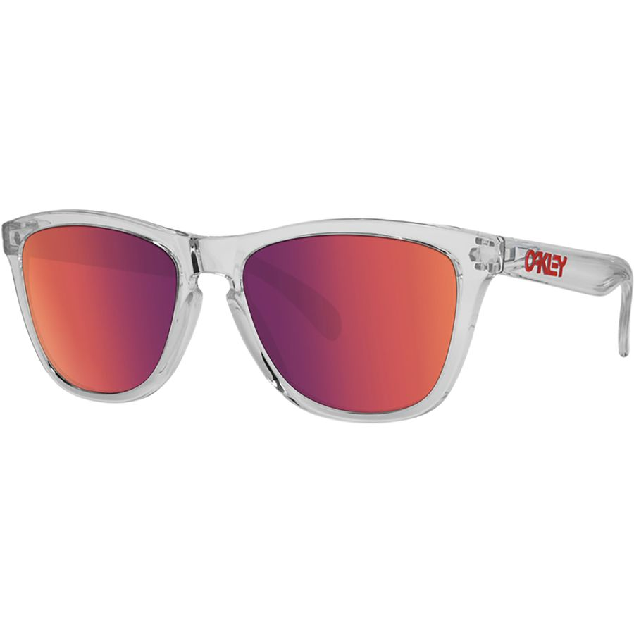 c3b9cbfef49 Oakley - Frogskins Crystal Clear Collection Sunglasses - Crystal Clear W   Torch Irid