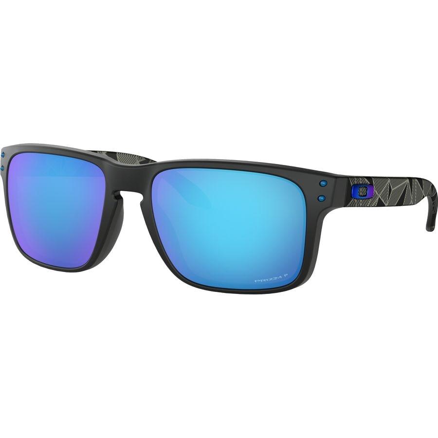 9ef5c96590 Oakley - Holbrook Prizm Polarized Sunglasses - Matte Black Przmtc Prizm  Sapphire Polarized