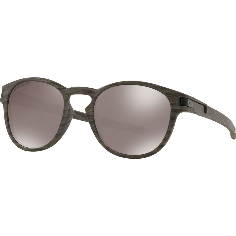456030b762 Oakley - Latch Prizm Polarized Sunglasses - Woodgrain W Prizm Black Iridium  Polarized