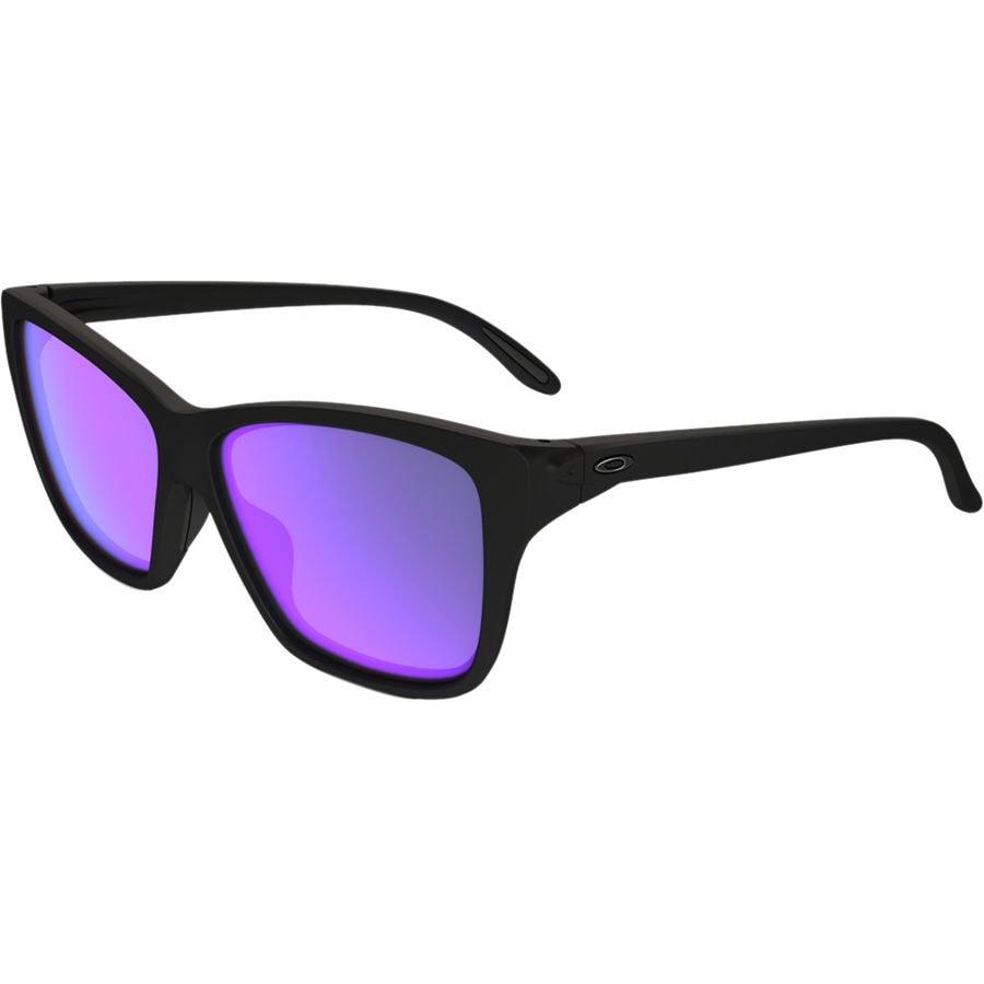 42bba05fd08 Oakley - Hold On Sunglasses - Women s - Matte Black  Violet Iridium