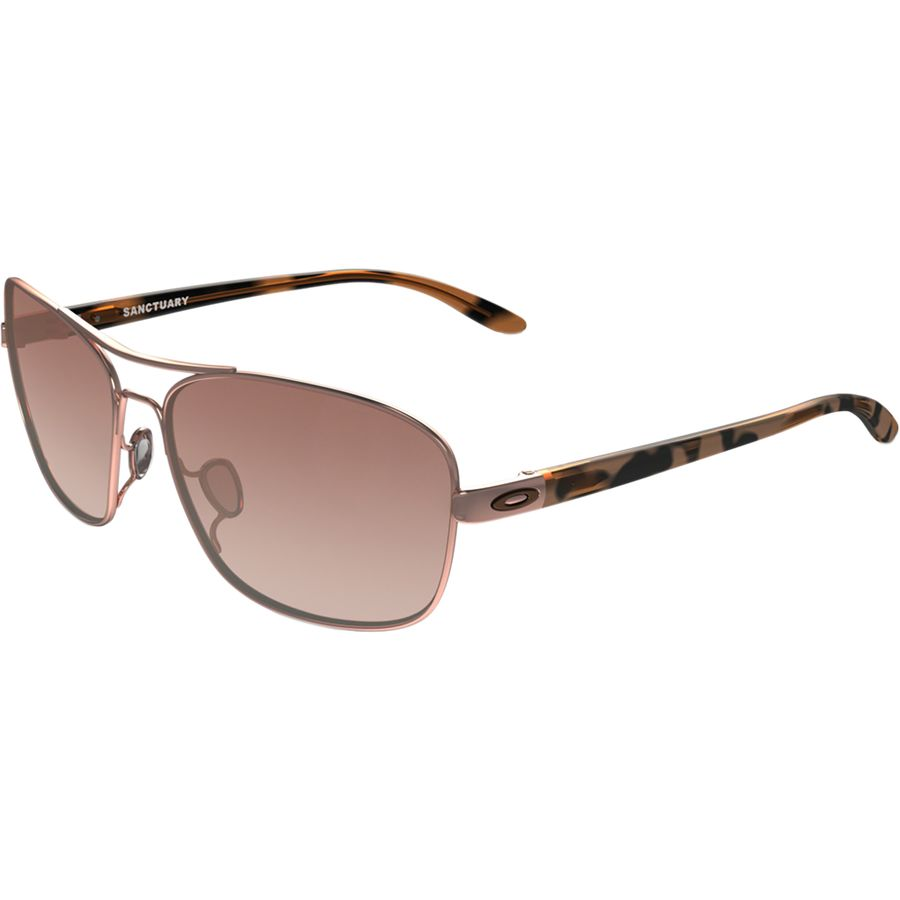 e9949d53b8 Oakley - Sanctuary Sunglasses - Women s - Rose Gold  VR50 Brown Gradient