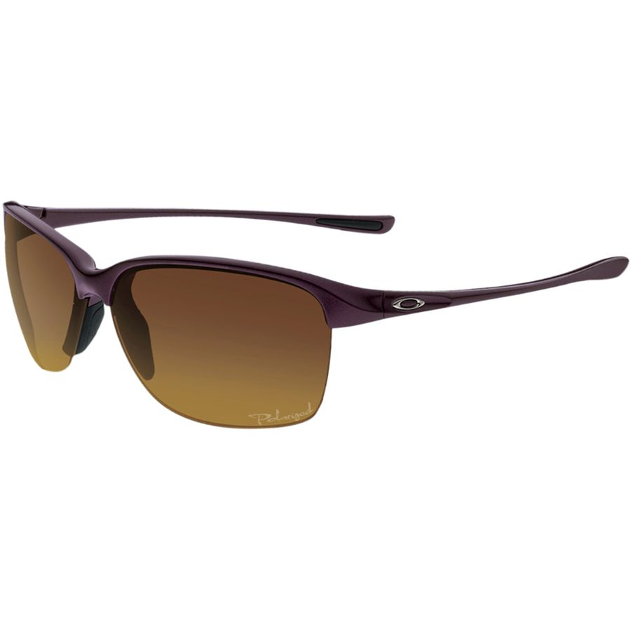 923ab4ffbe Oakley - Unstoppable Polarized Sunglasses - Women s - Raspberry  Spritzer Brown Gradient Polar