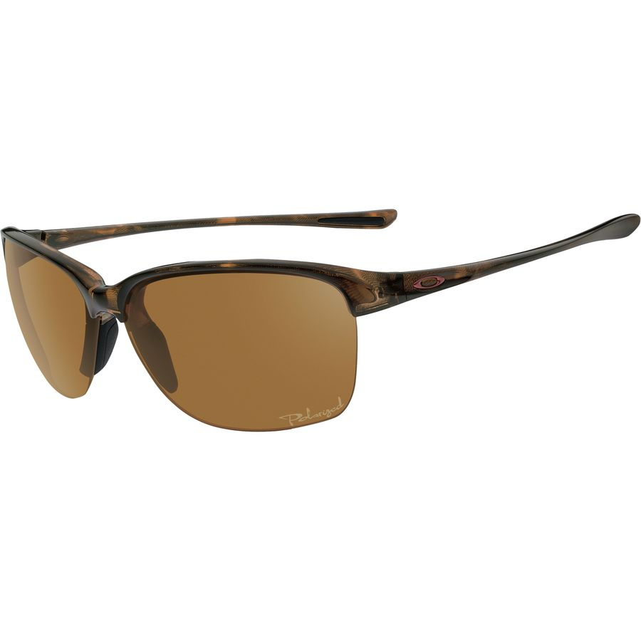 oakley sunglasses aviators womens  oakley unstoppable sunglasses polarized women's tortoise/bronze polar