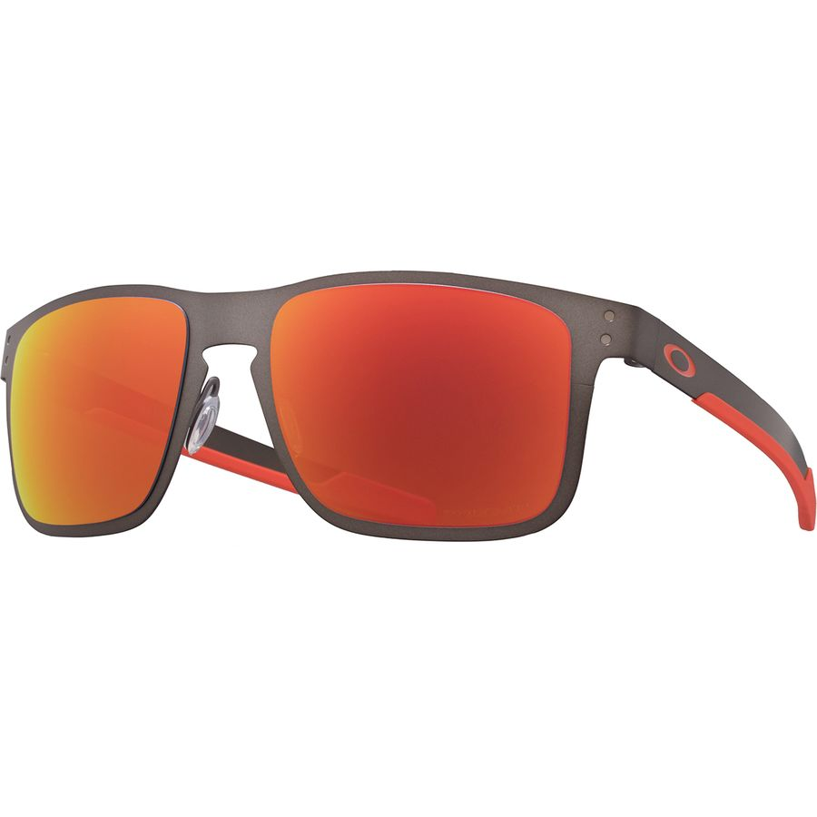 76db11207d Oakley - Holbrook Metal Prizm Polarized Sunglasses - Metal Matte  Gunmetal Prizm Ruby Polarized