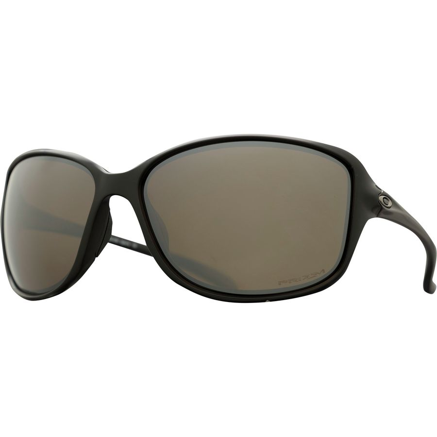 70ca9f83cfd Oakley - Cohort Prizm Polarized Sunglasses - Women s - Matte Black W  Prizm  Tngstn Pol