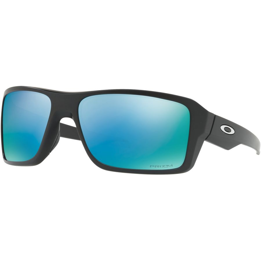 69edafbd7ab Oakley - Double Edge Prizm Polarized Sunglasses - Men s - Matte Black W   Prizm Deeph2o